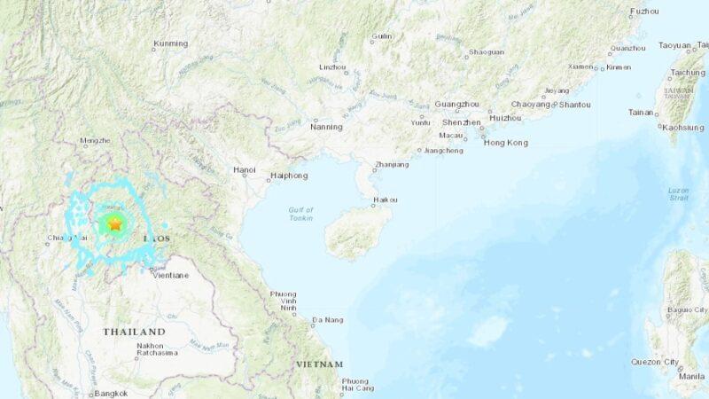 泰寮边境6.1浅层地震 700公里外的曼谷都有震感