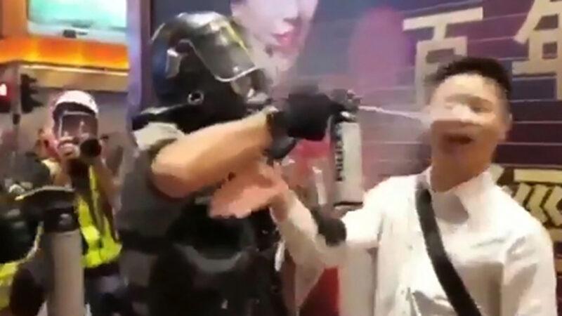 人权组织:警队被纵容  警暴日趋严重