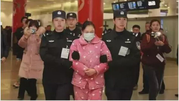卷走10亿拥23套房 美女总裁穿睡衣被押回中国