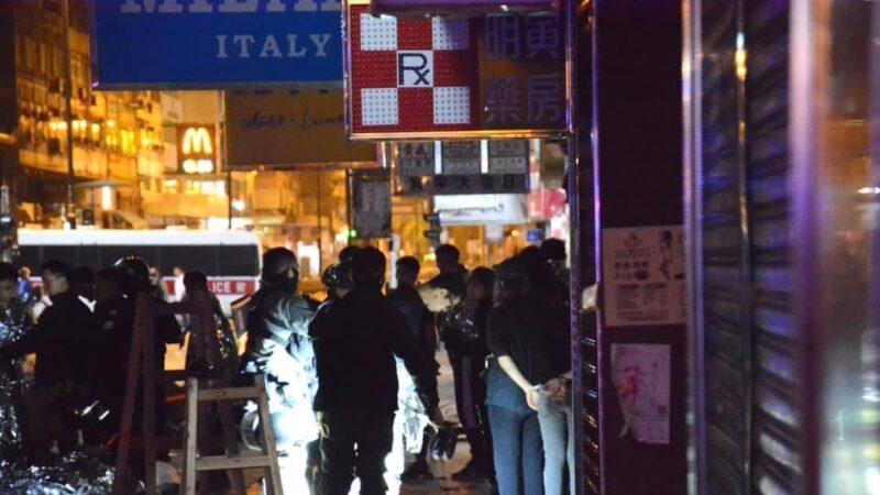传港警撞死1名中学生 伤30人16人危重(视频)