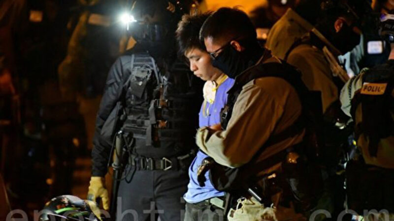 香港理大成战场 1100名抗争者被捕