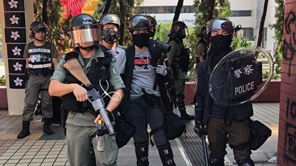 """戈壁东:香港警官威胁:若独立调查就""""陀枪游行"""""""
