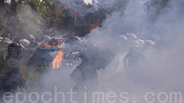 海風:中共軍警攻擊港中大犯下反人類罪