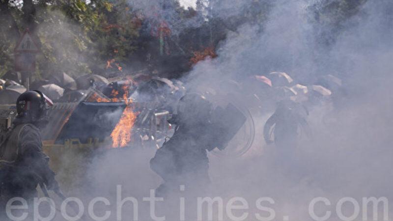 海风:中共军警攻击港中大犯下反人类罪