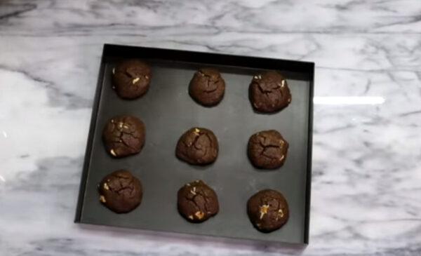 棉花糖巧克力饼干 超爱吃(视频)