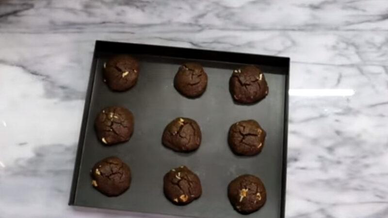 棉花糖巧克力餅乾 超愛吃(視頻)