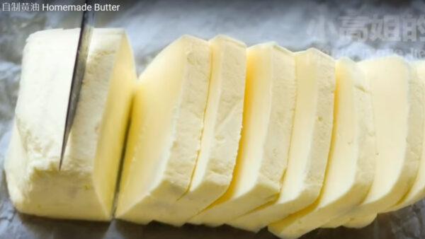 自製黃油 只需2種材料(視頻)