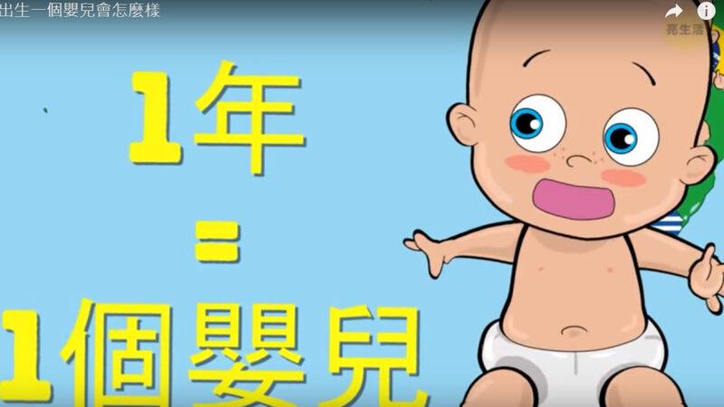 如果一年只出生一個嬰兒會怎麼樣(視頻)