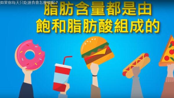 如果你每天只吃速食会怎么样 真的对身体有伤害吗(视频)
