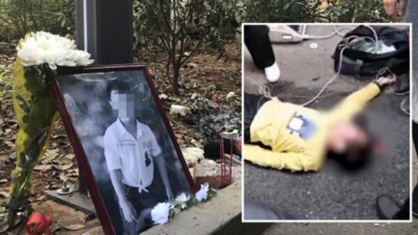 中国9岁童被活活打死 百余人冷血围观半小时