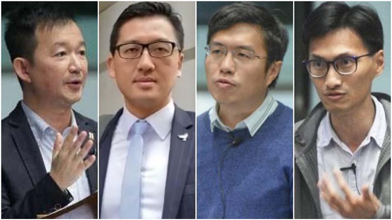 秋後算帳?香港7議員被捕 罪名為5月干擾修例會場