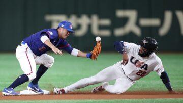世界12强棒球复赛 中华队2:3美国(直播回放)