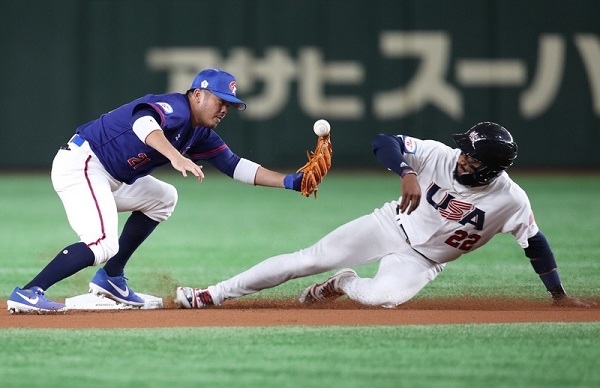 世界12強棒球複賽 中華隊2:3美國(直播回放)