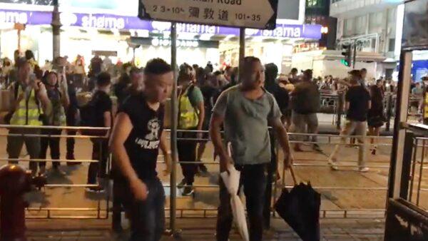 「東北3兄弟」襲擊港人被圍毆 微博熱捧成「英雄」