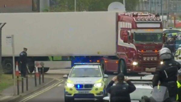 英警方:相信集裝箱死者是越南人 尚未獲確認證據