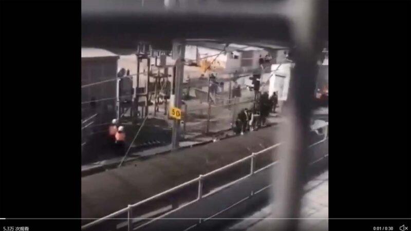 港警用列車押送理大被捕者 去向不明引質疑(視頻)