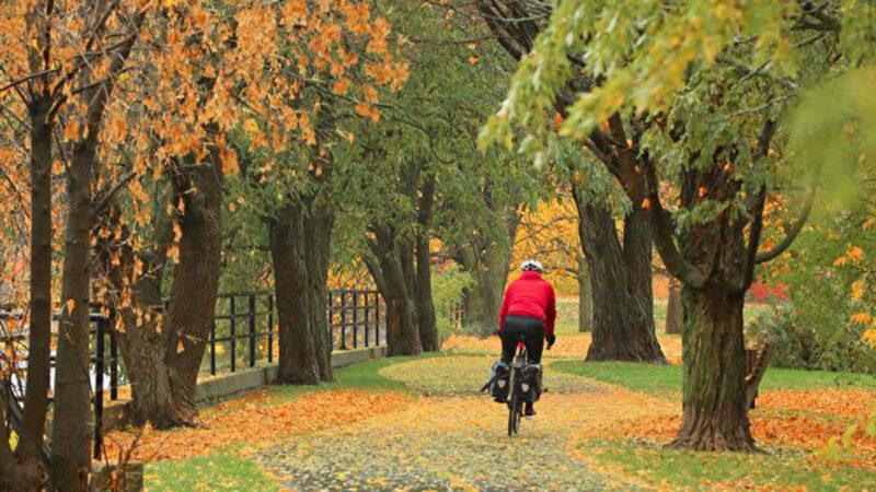 组图:渥太华晚秋景色迷人