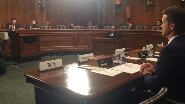美参院听证会聚焦抖音海外版 数据风险已渗入军方