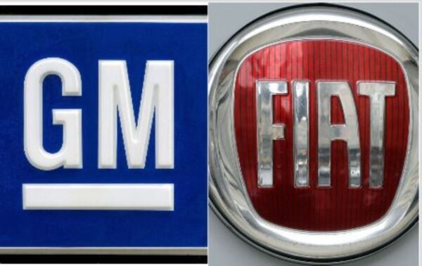 通用汽車對菲亞特克萊斯勒提出重磅訴訟