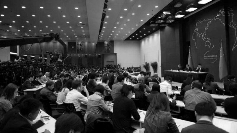 香港法案打疼中共 央视抓狂 外交部发战争声调