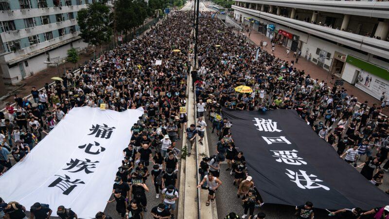 美媒:香港勢必爆發另一場更大抗爭
