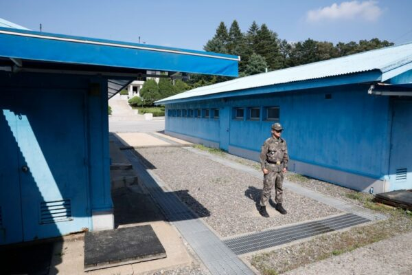 涉杀16名船员 韩首次经板门店遣送朝鲜2居民