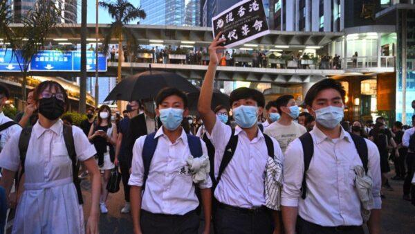 香港不是孤军奋战《启示录》预言中共末日