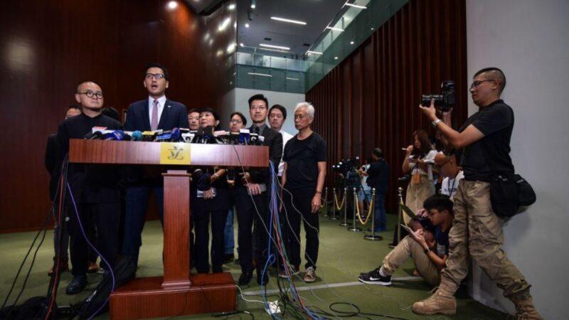 """香港""""史上最重要""""区选逼近 民主派:反送中变相公投"""