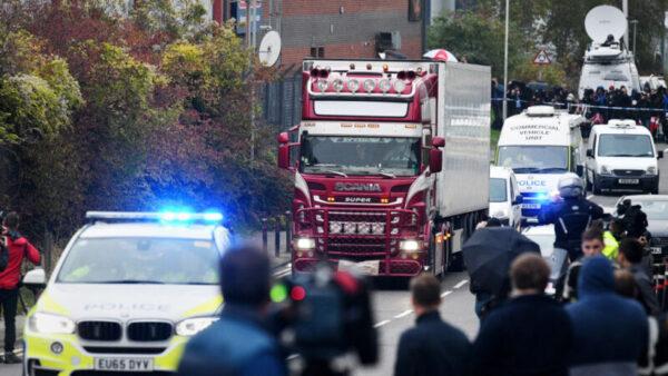 英貨櫃命案死者身份已查明 分屬越南6省市 已逮11嫌