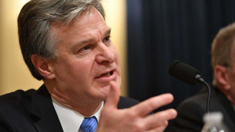 FBI局長:反情報特別關注中共 大選或受其干擾