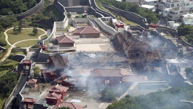 首里城大火起火點 警發現燒黑配電箱