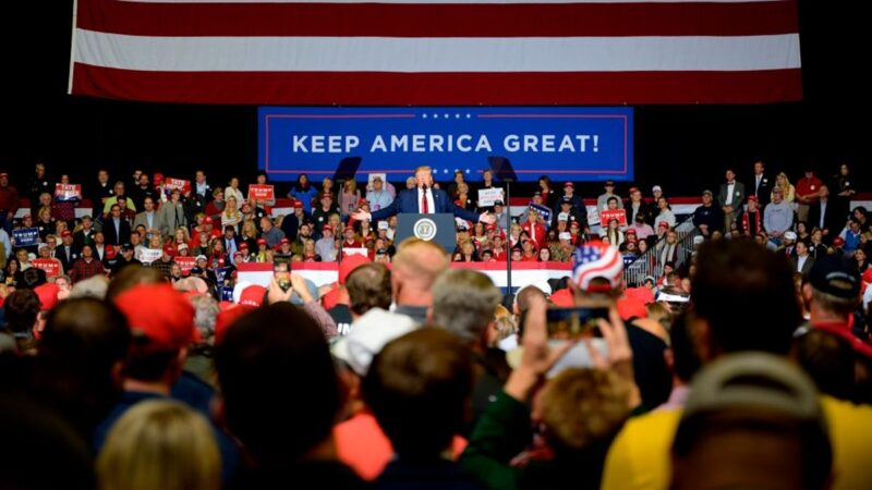 【直播回放】11.1美国总统川普参加密西西比州图珀洛助选集会(中文同声翻译)