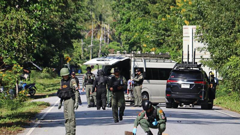 泰南2檢查站遇襲釀15死4傷 叛亂分子奪走武器