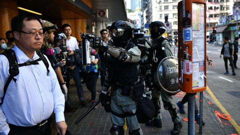 【直播回放】全港三罢各区现场 香港警察实弹伤民 民情激愤