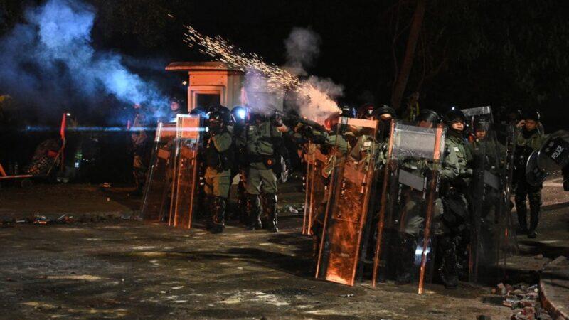 【直播回放】11.12入夜香港各区抗争现场实况