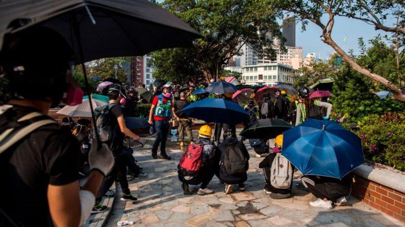 【直播回放】11.14香港反极权 爱丁堡广场港人续抗争