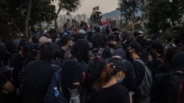 【禁闻】香港中大抗争者撤离 网友赞进退有序