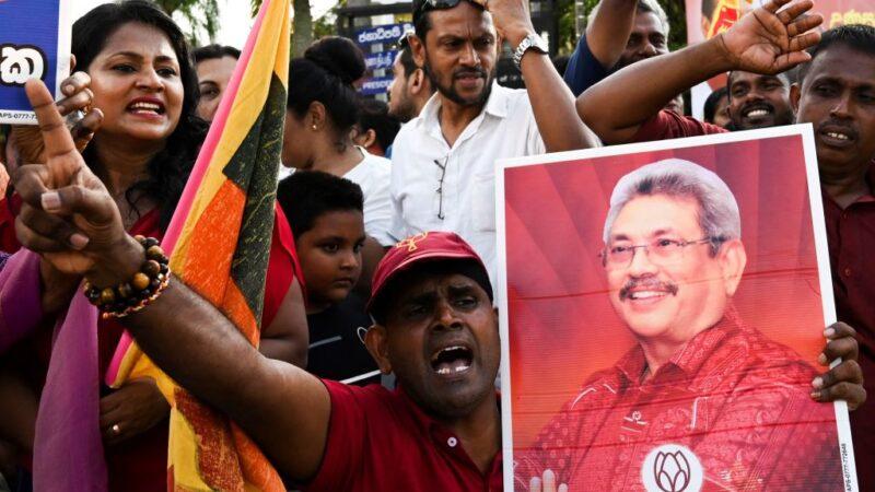 斯里兰卡总统大选 前国防部长52.25%得票率胜出