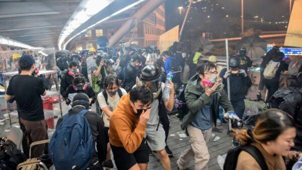 【11.19直播回放】港人继续街头抗争