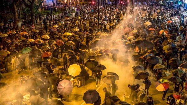一名大陸人對香港反送中示威民眾的支持