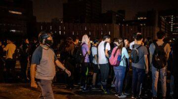 【今日點擊】2000餘港警強攻理大/中共公開否認香港司法獨立
