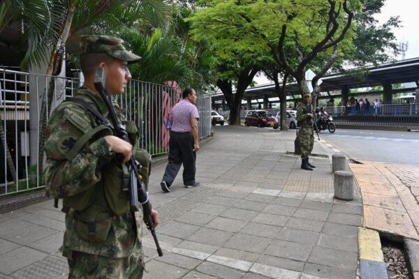 动荡不安 哥伦比亚警局遇袭警员3死7伤