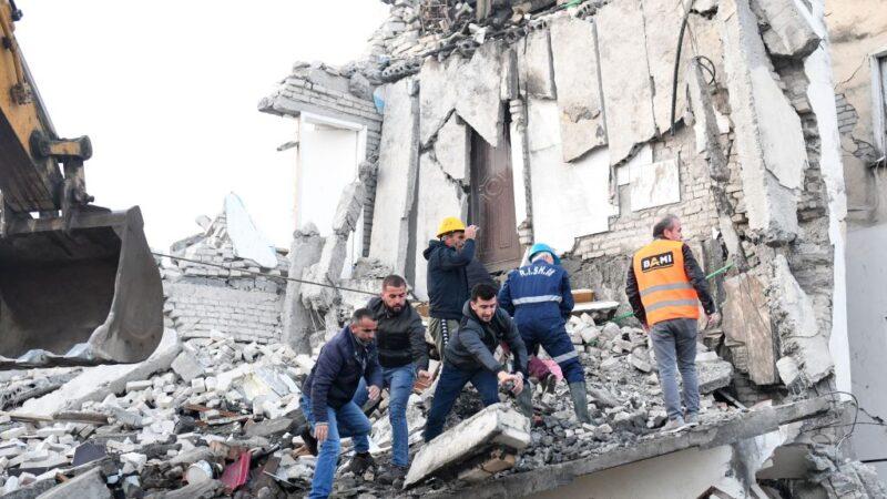 阿爾巴尼亞6.4淺層強震 大樓倒塌至少3死逾百傷