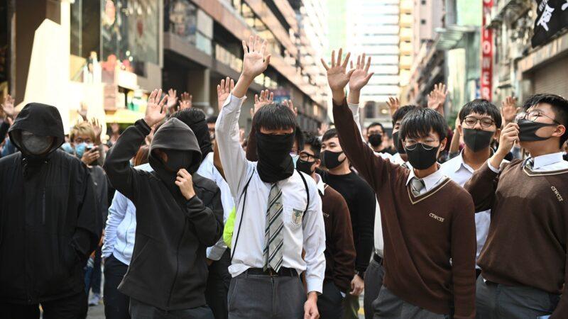川普签香港人权法 英日联署跟进