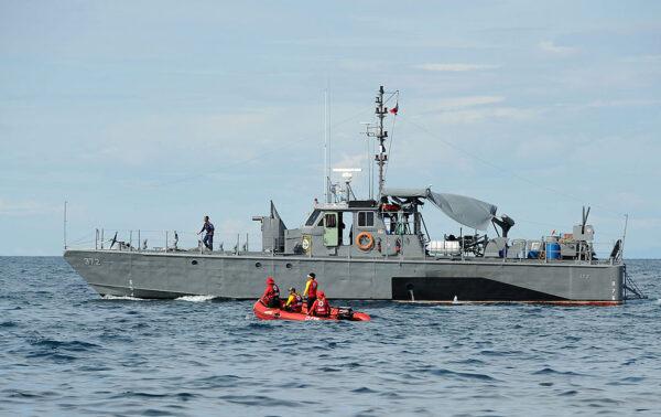 菲律賓約載60人渡輪翻覆 官方展開救援
