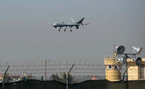 美军无人机 疑利比亚上空被撃落
