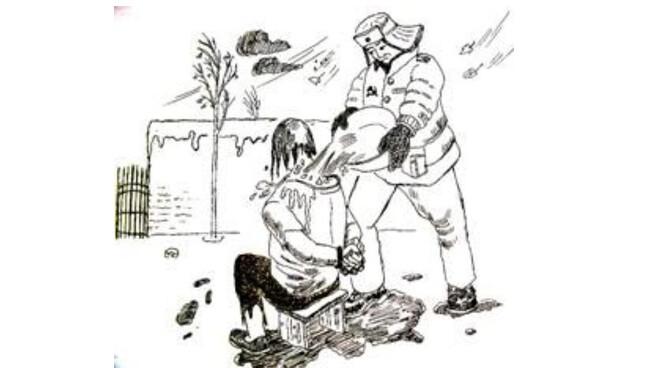 辽宁女监摧残老年法轮功学员 冬天身上浇冷水