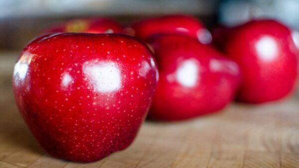 蘋果甜不甜,瞄一眼這裡就知道,一挑一個准,挑的蘋果又甜又好吃!