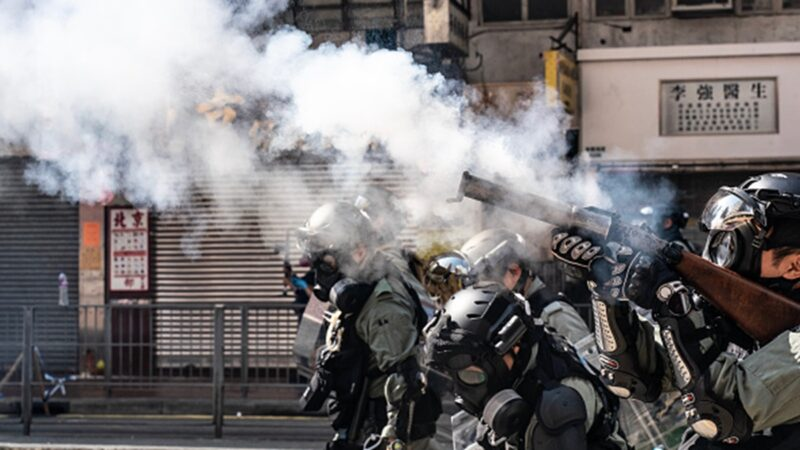 蔡英文斥香港開槍:中港政府不該用子彈回應人民