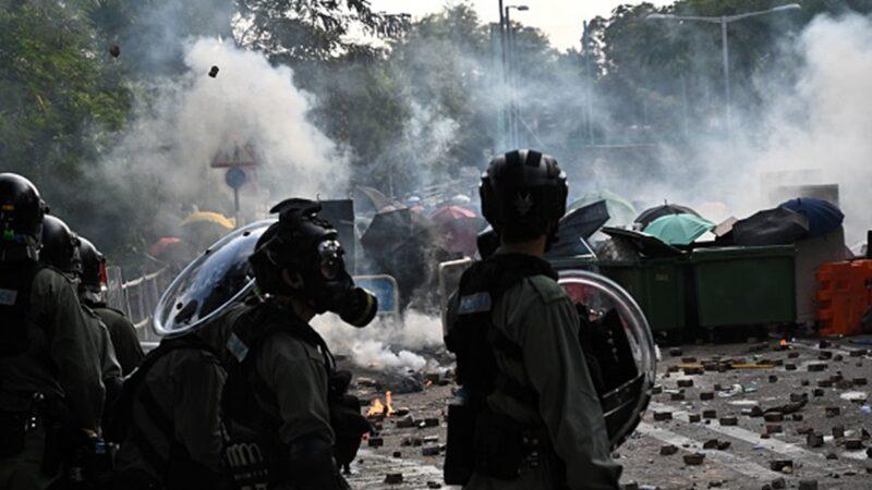 香港學界聯合譴責「魔警屠城」:誓與中大共存亡